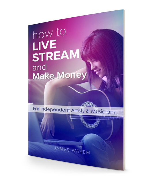 How To Live Stream and Make Money book